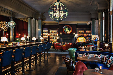 We here at Nicolas Alexander can't wait to have a Negroni at the beautiful Scarfes Bar at the Rosewood London
