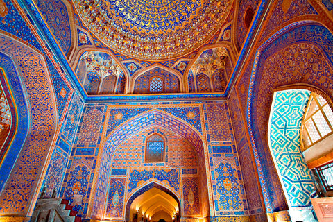 The mysterious and beautiful Samarkand in Uzbekistan