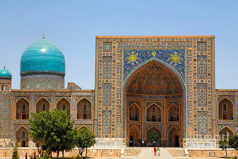 Nicolas Alexander thinks Samarkand would be full of inspiration for future swim short designs