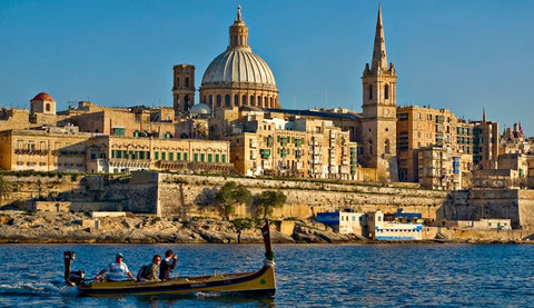 Valletta from the water