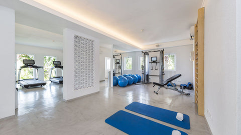 The gym at Vila Monte
