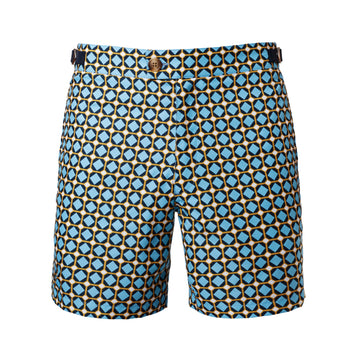 Gaudi Print Bathing Short from the front