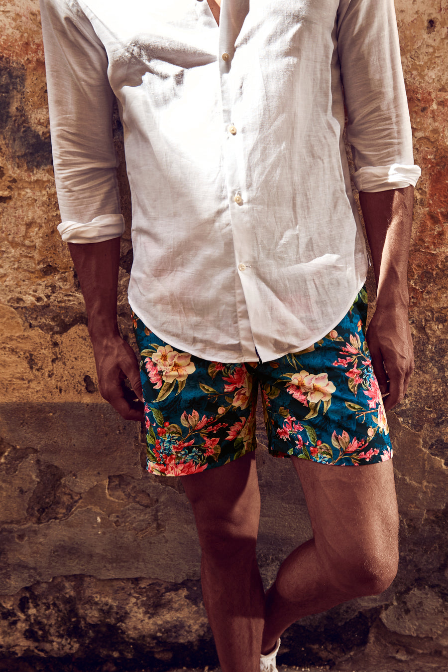 Nicolas Alexander offers the ultimate summer swim trunks