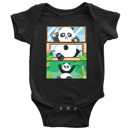 Panda Discovers Outside Onesie - Freedom Pandas