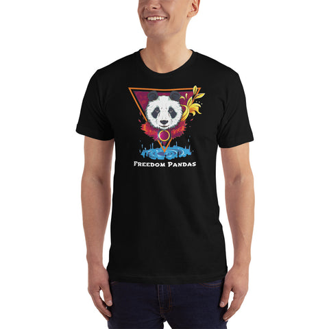 Golden Spirit Panda T-Shirt - Freedom Pandas