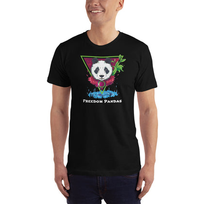 Nature Spirit Panda T-Shirt - Freedom Pandas