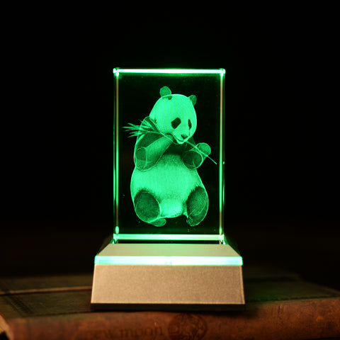 3D Panda Display - Freedom Pandas