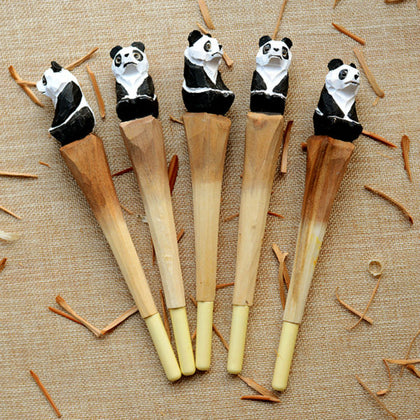Wooden Panda Pen - Freedom Pandas