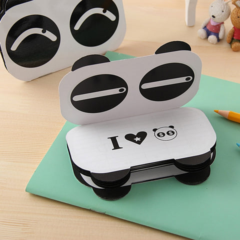 Expression Panda Mini Notepad - Freedom Pandas