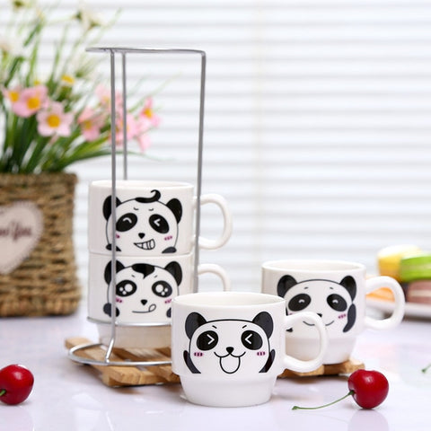 Panda Family Mug Set - Freedom Pandas