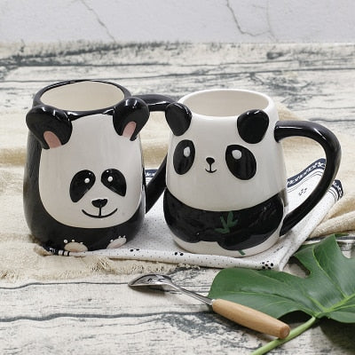 Panda Pair Mug Set - Freedom Pandas