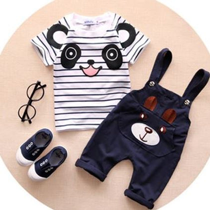 Panda Top & Bear Trousers Outfit - Freedom Pandas
