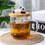 Panda Glass Mug - Freedom Pandas