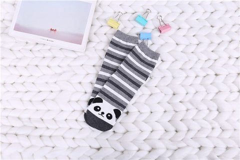 Stripped Panda Socks - Freedom Pandas