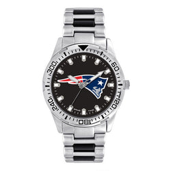 New England Patriots Heavy Hitter Series Men's Watch