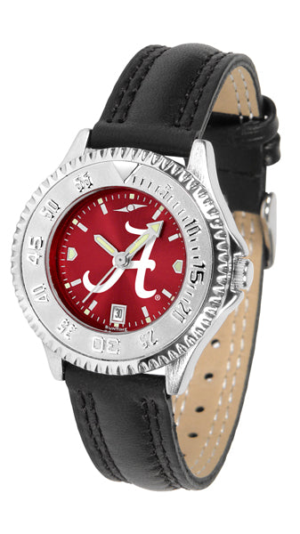 Alabama Crimson Tide Competitor AnoChrome Ladies Watch