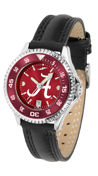 Alabama Crimson Tide Competitor AnoChrome - Color Bezel Ladies Watch