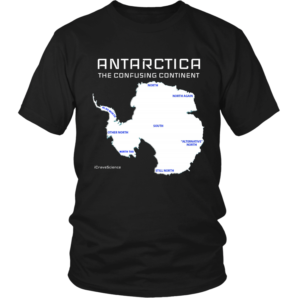 Antarctica - The Confusing Continent Shirt