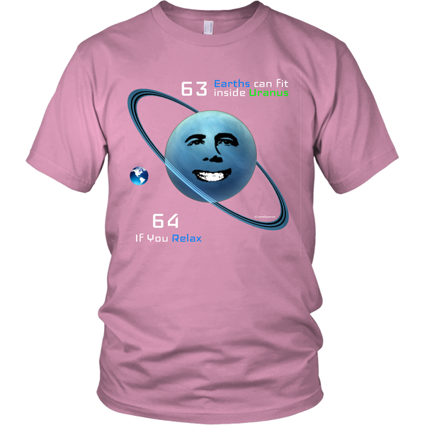 Earths Fit Inside Uranus T-Shirt