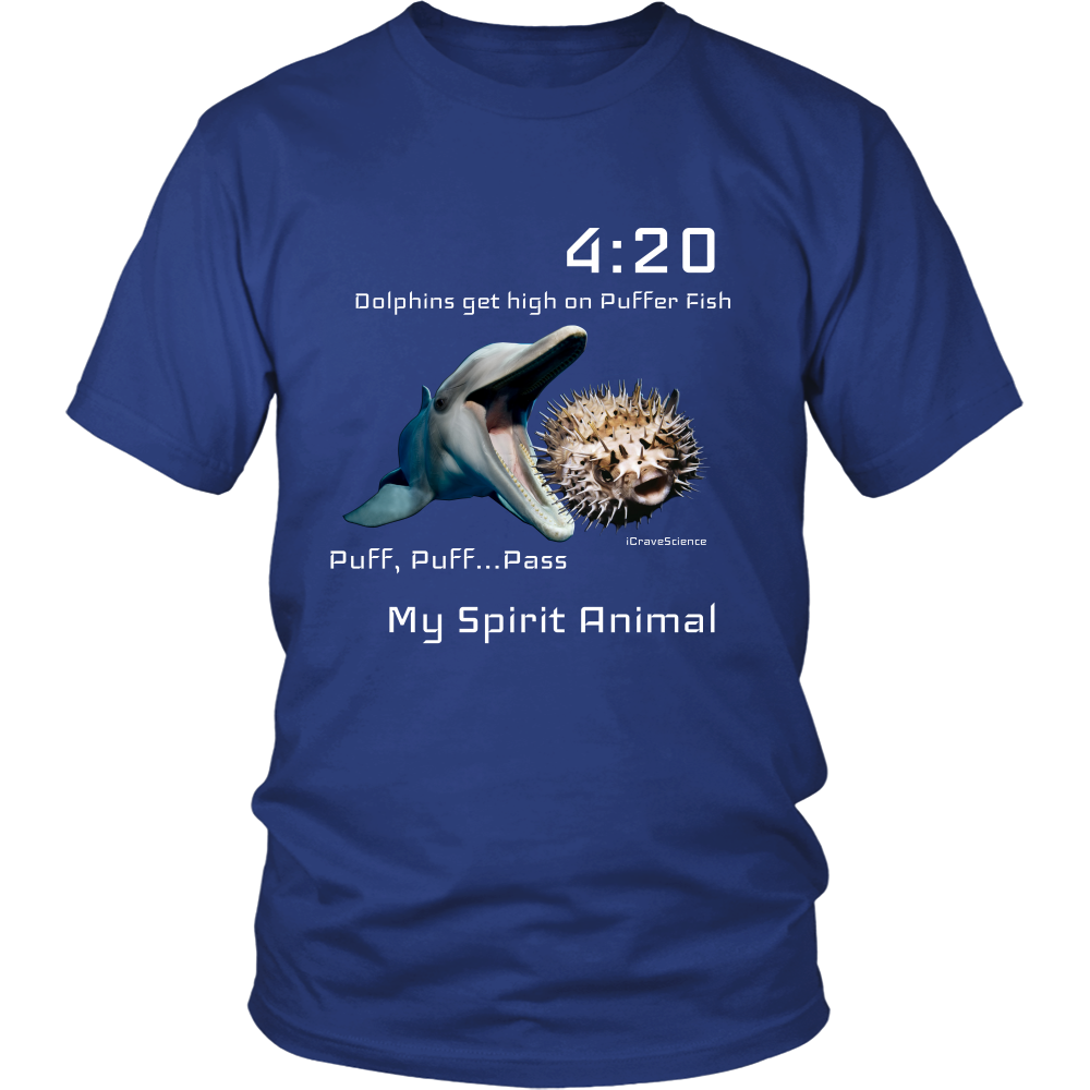 Dolphins High Puff Puff Pass Shirt