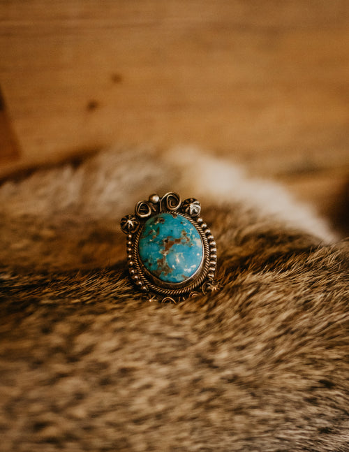 Bubble Turquoise Ring