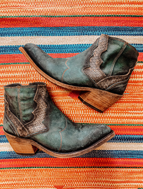 Liberty Black Emerald Bootie