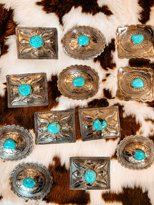 The Badlands Turquoise Buckle