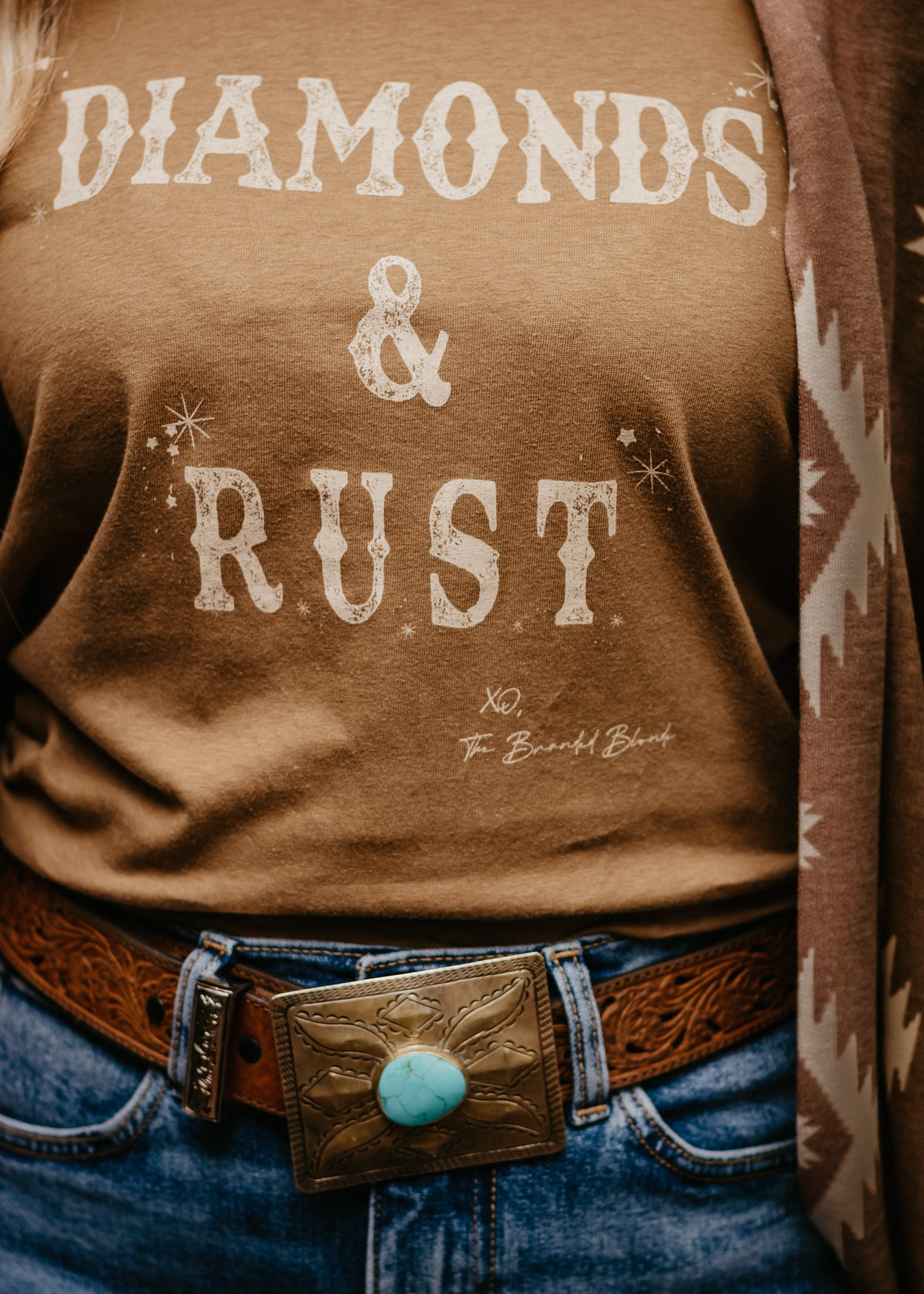 Diamonds & Rust Tee
