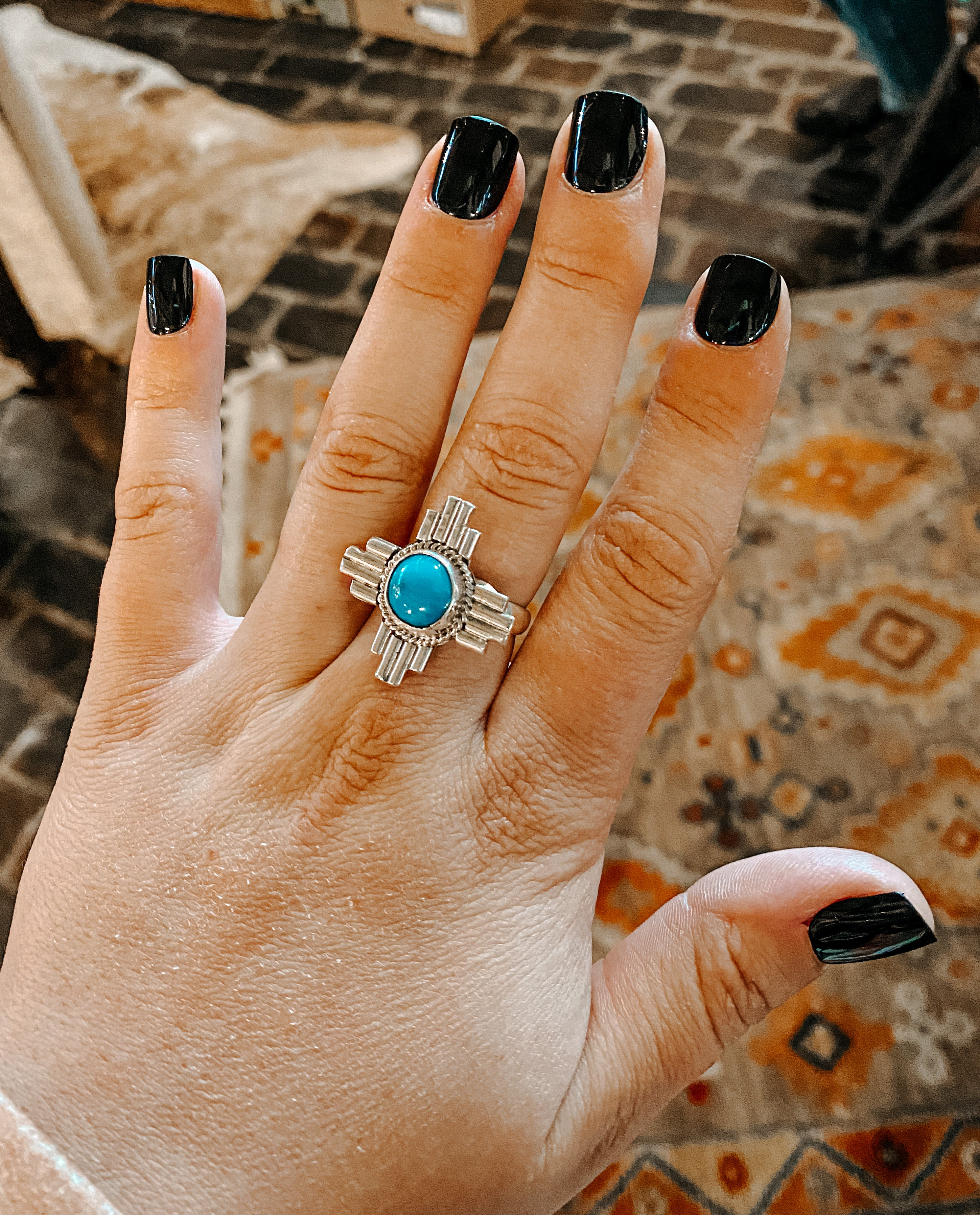 Zia Turquoise Ring
