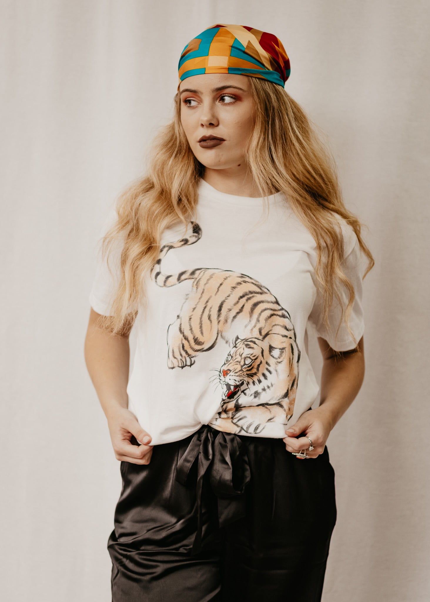 Tiger By The Tail Tee