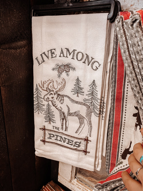 Among The Pines Kitchen Towel