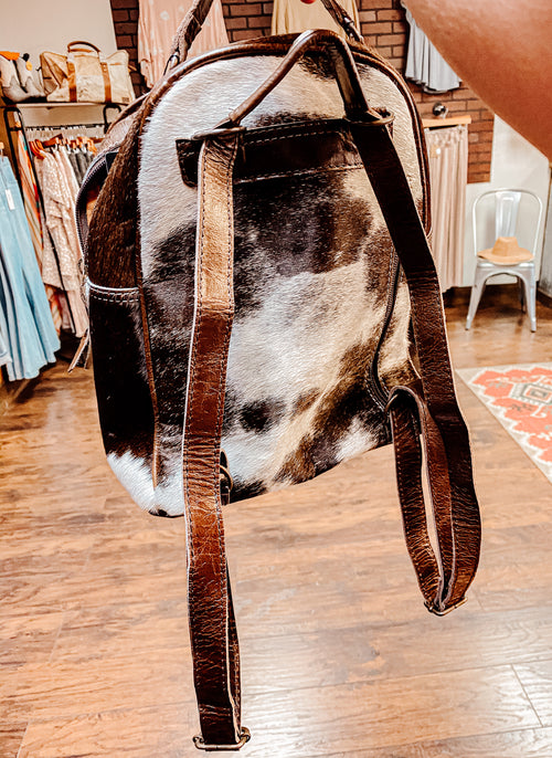 Cade Cowhide Backpack