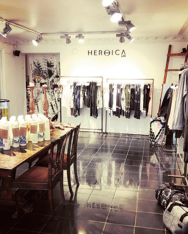 Heroica Life Pop-up Shop Karl Gustavsgatan 15, Göteborg