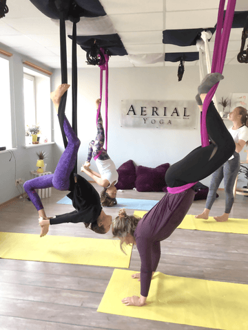 Aerial Yoga Retreat in Riga, Latvia