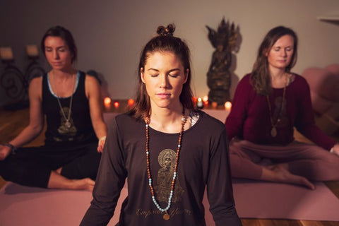 Calm down, take a moment to breathe and think about your practice