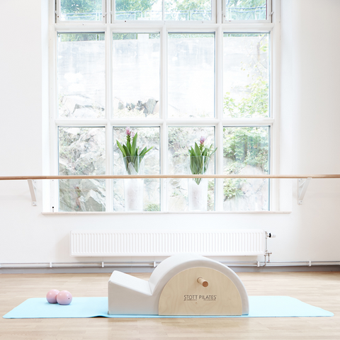 Create a space where you can leave your mat out ready for your yoga practice