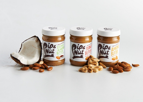 Pip and Nut - nut butters without Palm Oil! Exclusive to Heroica