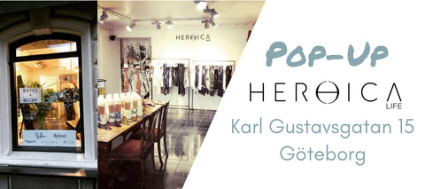 Heroica Pop-up, Karl Gustavsgatan 15, is coming back in March!