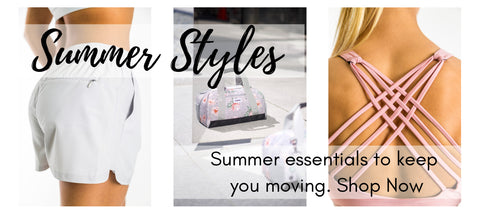 Summer Styles - Essentials to keep you moving at Heroica Life