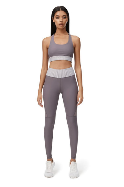 Laurel Bliss Full Length Legging (Purple)