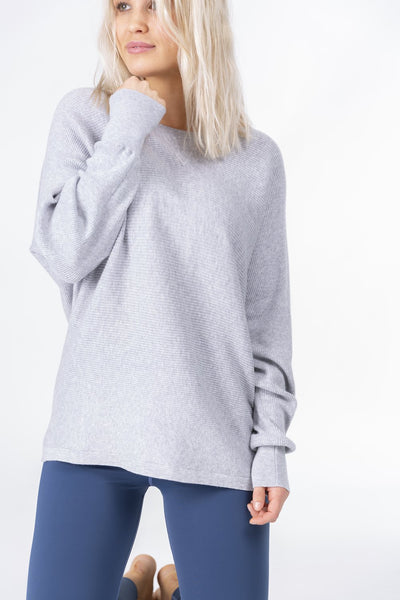 Warm-Up Sweater (Light Grey)
