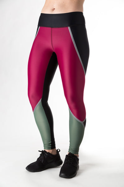 Supercharge Tights (Berry)