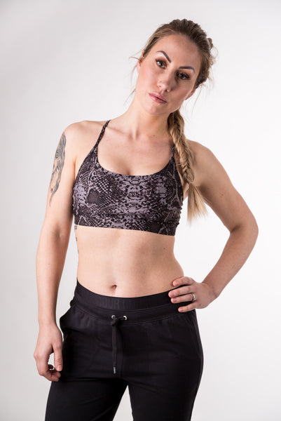 Gravity Bra (Black Snake)