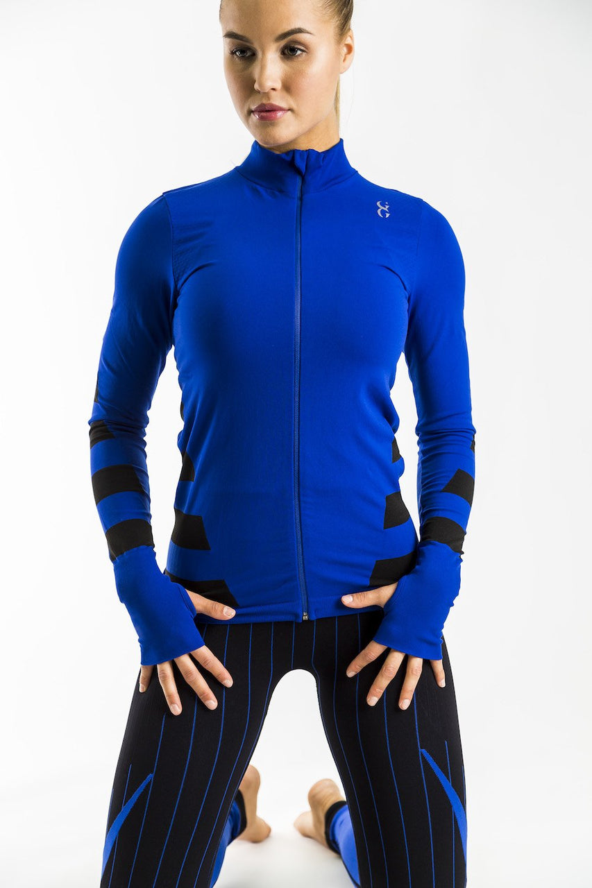 Warrior Zipthru Jacket (Royal Blue)