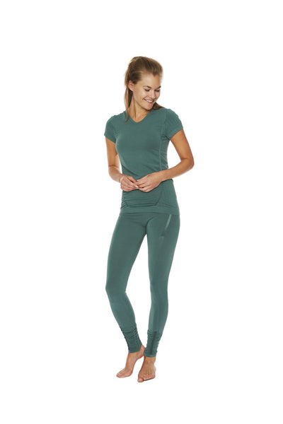 Bamboo Pregnancy T-shirt (Muted Green)
