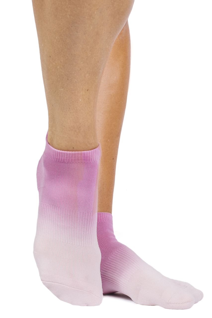 Riley Sport Sock (Pink Ombre)