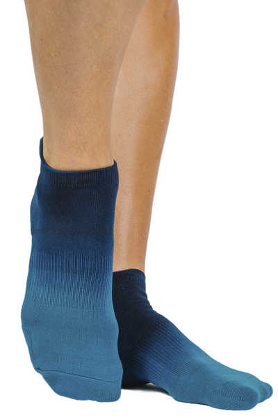 Riley Sport Sock (Teal Ombre)