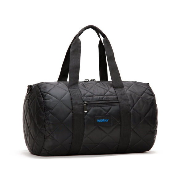 Roadie Gym Bag (Quilted Black)