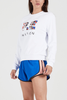 Tri-Ball Sweat (White)