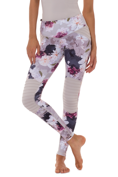 Cherish Me Motto Legging (Stone)
